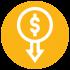 obniżenie kosztów stałych przez podniesienie wydajności personelu